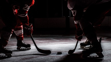 Hockey Stock photos at SAIT Arena in Calgary on Tuesday, April 5, 2016. (Photo by Kyle Meller)